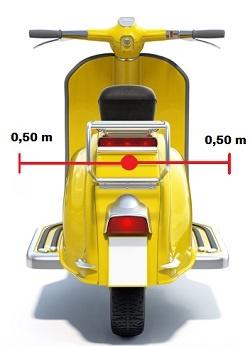 vehículo de MENOS de un metro